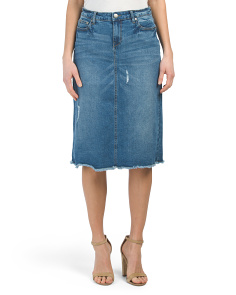 Easy A Denim Skirt