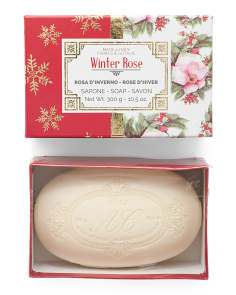10.5oz Boxed Winter Rose Soap