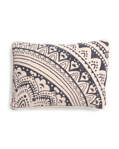 Made In India 14x26 Boho Pillow