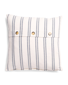 Made In India 20x20 Striped Pillow