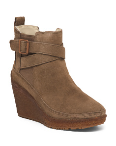 Leather All Weather Traction Booties
