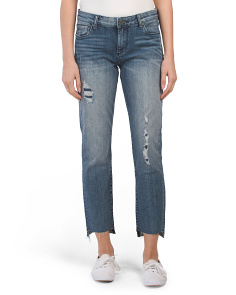 Reese Ankle Straight Leg Jeans