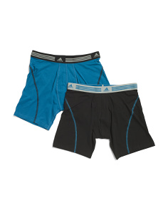 2pk Athletic Stretch Boxer Briefs