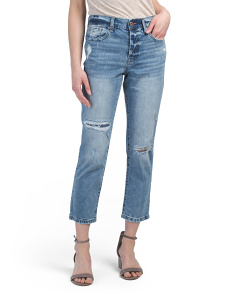 Charlie High Rise Straight Jeans