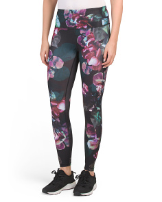 Ankle Length High Waisted Printed Leggings