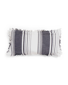 Made In India 14x28 Stripe Pillow