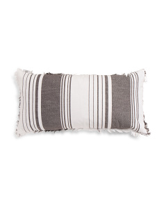 Made In India 14x28 Multi Stripe Pillow