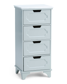 4 Drawer Marble Tower