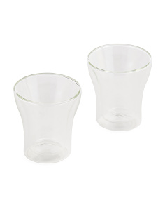 2pk Assam Double Wall Glass Set