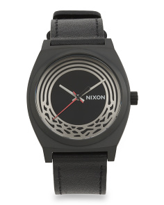 Star Wars Kylo Time Teller Leather Strap Watch