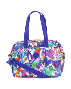 Popper Nylon Diaper Bag