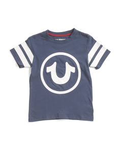 Boys Circle Logo Short Sleeve Tee