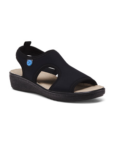 Made In Italy Scuba Stretch Comfort Sandals