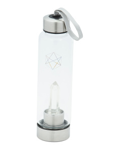 Balance And Clarity Crystal Water Bottle