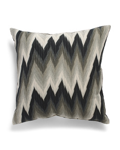 Made In Usa 22x22 Chevron Pillow