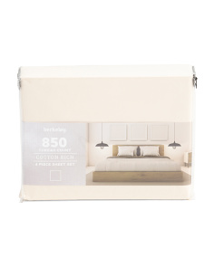 850tc Cotton Rich Sheet Set
