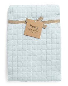 Remy Quilted Baby Blanket