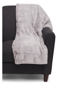 Stanton Luxe Faux Fur Throw
