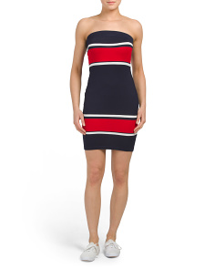 Juniors Color Block Dress