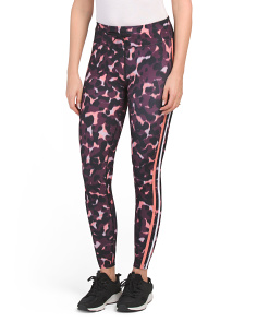 Animal Print & Racing Stripe Leggings
