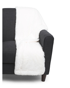 Back To Back Faux Fur Throw