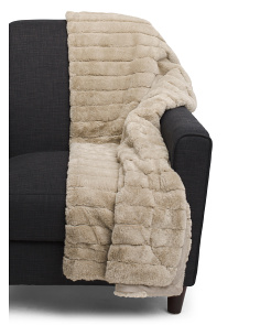Micromink Faux Fur Throw