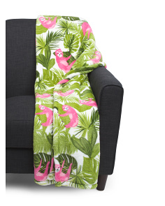 Tropical Sloth Soft Throw