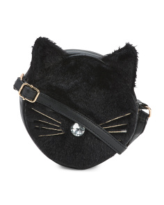 Faux Fur Kitty Crossbody
