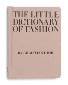 The Little Dictionary Of Fashion Book
