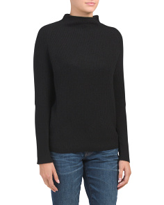 Cashmere Turtleneck Pullover Sweater