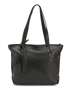 Delamar Bronco Leather Tote