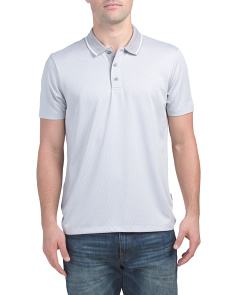 Short Sleeve 3 Button Performance Polo
