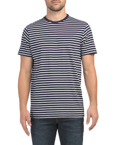 Temple Striped Tee