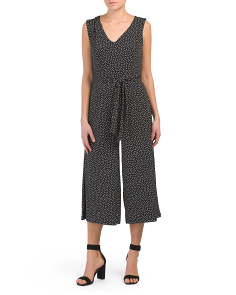 Mini Dot Jumpsuit