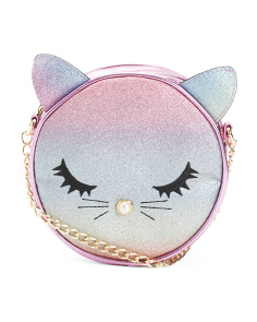 Cat With Pearl Nose Crossbody
