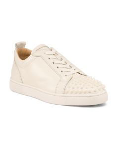 Men's Made In Italy Leather Sneakers
