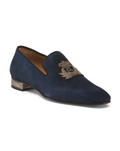 Men's Made In Italy Suede Loafers