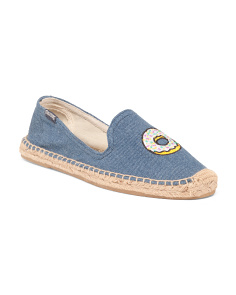 Donut Embroidery Espadrilles