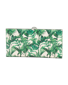Leather Palm Quinn Clutch Wallet