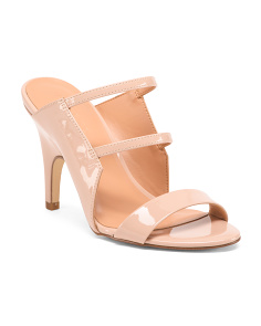 Stiletto Heel Slide Sandals