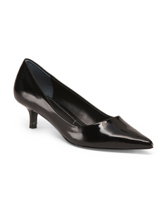 Pointy Toe Low Heel Pumps
