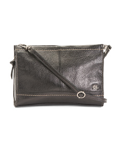 Leather Iris Convertible Crossbody