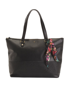Waverly Large Tote With Scarf