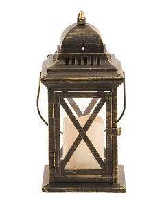 Led Criss Cross Lantern