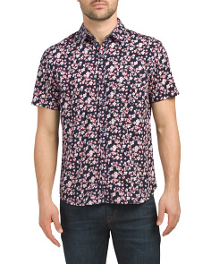 Printed Short Sleeve Shirt