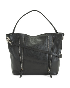 Celeste Leather Hobo