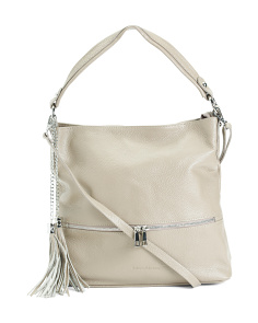 Made In Italy Leather Hazel Hobo