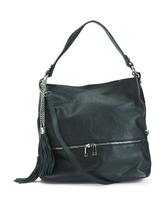 Leather Hazel Hobo