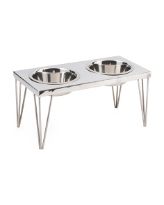 Made In India Stainless Steel Pet Feeder Stand