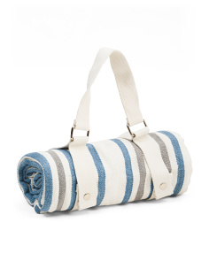 Beach Picnic Blanket With Straps